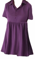 SOLD OUT! SALE! Purple A-Line Plus Size Short Sleeve Tunic Top T-Shirt 2x