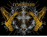 SALE! Revolution Cross Eagles Plus Size & Supersize T-Shirts  S M L XL 2x 3x 4x 5x 6x 7x 8x (All Colors)
