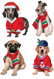 SOLD OUT! Santa's Puppies - Plus Size & Supersize Christmas Dog T-Shirts S M L XL 2x 3x 4x 5x 6x 7x 8x (All Colors)