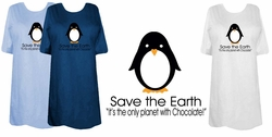SOLD OUT! FINAL SALE! Save The Earth Plus Size T-Shirts 3x