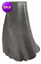SOLD OUT! SALE! Silver Metallic Slinky Print Special Order Customizable Plus Size & Supersize Skirt 4xT