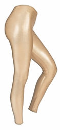 SOLD OUT! SALE! Slate Or Champagne Colored Metallic Plus Size Leggings 5x