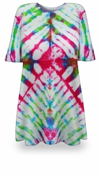 SOLD OUT! SALE! Snapdragon Tie Dye Plus Size T-Shirt 5xl
