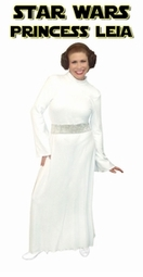 SOLD OUT! Star Wars Princess Leia Plus Size And Supersize Halloween Costume + Add Accessories! Size 2xT