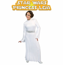 FINAL CLEARANCE SALE! Star Wars Princess Leia Plus Size And Supersize Halloween Costume Sizes SM