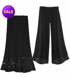 SOLD OUT! SALE! Starry Night Skirt or Pants Tapered Style, Capri or Palazzo Plus Size Supersize Bottoms