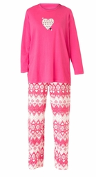 SALE! Strawberry Fair Isle Pajamas! Plus Size knit PJs  4x