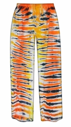 CLEARANCE! Tiger Tie Dye Plus Size Pants 2x
