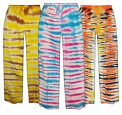 FINAL CLEARANCE SALE! Plus Size Tiger Tie Dye Pants 2x