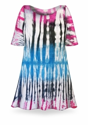 SALE! Seismic Ombre Tie Dye Plus Size & Supersize X-Long T-Shirt 0x 1x 2x 3x 4x 5x 6x 7x 8x