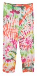 CLEARANCE! Tropical Explosion Plus Size & Supersize Tie Dye Pants 2x
