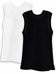 FINAL CLEARANCE SALE! Plain White or Black Plus Size Tank Top 2x