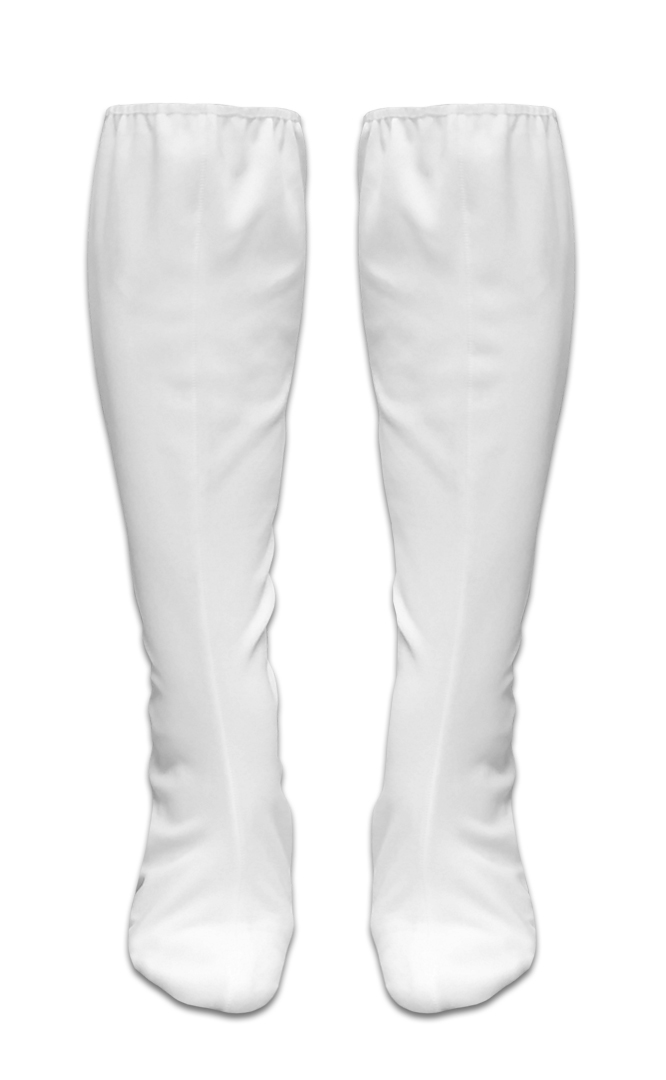 White Boot Covers Halloween