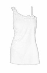 SALE! White Rosette Plus Size Swimdress 4x