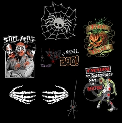 "<font size=""3"" color=""green""><b><center>Halloween Shirts!  <br></b><font size=""1"" color=""red""></font>"