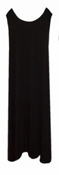 SOLD OUT! Separates: Black Spandex Tank Dress