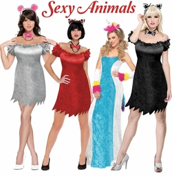 Sexy Animals Plus Size Costumes