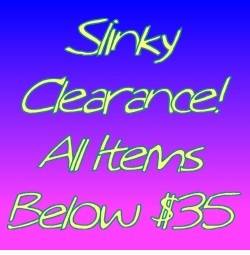 Slinky Clearance! Items Under $35