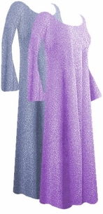 SOLD OUT! Beautiful Glimmering Lavender/Pink or Lavender/Gray Customizable Plus Size & Supersize Dresses, Jackets & Shirts Lg to 9x