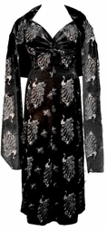 SOLD OUT! Black & Gold Glittery Peacock Velvet 2pc Sexy Special Order Princess Cut Dresses 0x 1x 2x 3x 4x 5x 6x