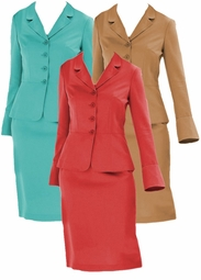 SOLD OUT!!!!CLEARANCE! 2pc Bell Sleeve Plus Size Supersize Skirt Suit