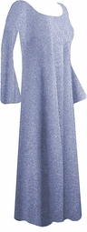 SOLD OUT! CLEARANCE! Beautiful Glimmering Lavender/Gray Plus Size Dress 1x 2x