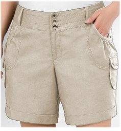SOLD OUT! CLEARANCE! Beige Plus Size Cargo Shorts 3x/4x - 28