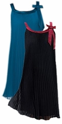 SOLD OUT! CLEARANCE! Black or Teal Bow Accent Special Occasion Plus Size Dress 3x 28