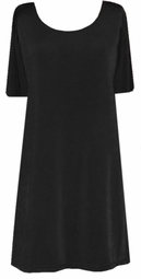 SOLD OUT! Clearance! Black Slinky Short Sleeve Plus Size Shirt 2x/3x