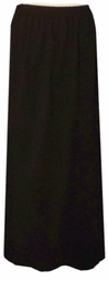 SOLD OUT! CLEARANCE! Black Triplex Plus Size Supersize Skirt 5x