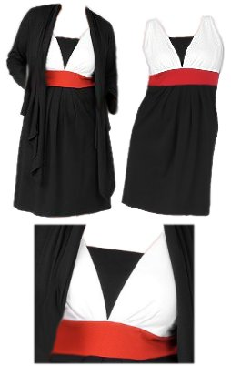 SOLD OUT!!! CLEARANCE! Black White & Red Plus Size ...