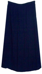 SOLD OUT! CLEARANCE! Dark Blue Soft Stretch Denim Plus Size Supersize Skirt 4x 5x