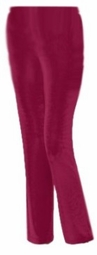 SOLD OUT!!!!!!!!!!!!!!! CLEARANCE! Dark Red Extra Long Straight Leg Slinky Pants 4x