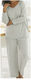 SOLD OUT! CLEARANCE! Gray 2pc Top & Pant Set Plus Size Supersize 5x