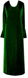 SOLD OUT! SALE! Green Glimmer Plus Size Dress 0x