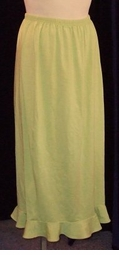 SOLD OUT! CLEARANCE! Green Ruffle Plus Size Triplex Skirt 0x