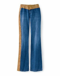 SOLD OUT!!!!CLEARANCE! Lacy Boot Cut Plus Size Jeans 24w 3x