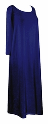 SOLD OUT! CLEARANCE! Navy Blue Velvet Plus Size & Supersize Dresses 3x/4x