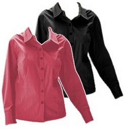 SOLD OUT! CLEARANCE! Pink Plus Size Supersize Cotton/Spandex Stretch Blouses 6x