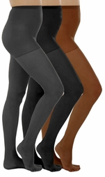 SOLD OUT! CLEARANCE! Plus-Sized Grey Daysheer Pantyhose 7x