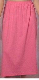 SOLD OUT! CLEARANCE! Pretty Poly/Cotton Casual Pink Skirt Plus Size 3x/4x