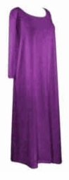 SOLD OUT! CLEARANCE! Purple Crush Velvet Plus Size Supersize Dress 8x/9x