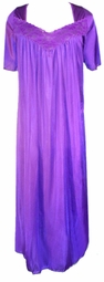 SOLD OUT! CLEARANCE! Purple Nylon Plus Size Supersize Nightgowns 5x