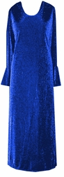 SOLD OUT! CLEARANCE! Royal Blue Glimmer Plus Size Dress XL (14/16)