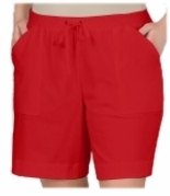SOLD OUT! CLEARANCE! Ruby Red Drawstring Shorts