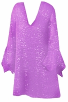 SOLD OUT! SALE! Stunning Lavender Glimmer Plus Size Supersize Shirt 1x