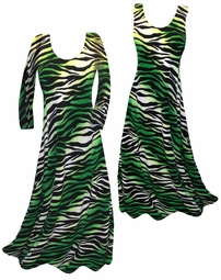 SOLD OUT!!!!!!!!!!! Customizable! New! Green & Black Animal Print Yummy Slinky Plus Size & Supersize Straight or Cascading A-Line or Princess Cut Dresses & Shirts, Jackets, Pants, Palazzo's or Skirts Lg to 9x