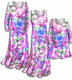 SOLD OUT!!!!!!!!!!Customizable! New! Spring Time Pink & Blue Floral Slinky Plus Size & Supersize Customizable A-Line or Princess Cut Dresses & Shirts, Jackets, Pants, Palazzo's or Skirts Lg XL 0x 1x 2x 3x 4x 5x 6x 7x 8x 9x