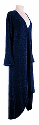 SOLD OUT! Customizable Royal Blue Glimmer Plus Size & Supersize Dress 1x to 9x