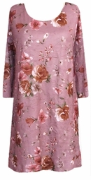 SOLD OUT!!!FINAL SALE! Confetti Pink Crinkle Floral Plus Size & Supersize Shirts 2x